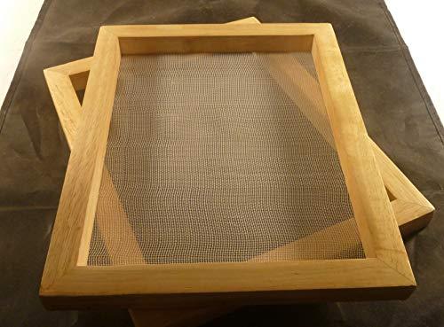 tribal paper bhutanpaperarts Papierschöpfrahmen 21x30 cm Traditionswerkzeug auch für Kinder/incl. Anleitung