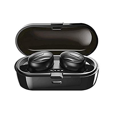 Wireless Headphones, 2020 New Bluetooth Earphone BT5.0 Wireless Earbuds with Stereo Audio Microphone In-ear Bluetooth Headphones with portable charging case for IOS and Android?B36) from APSONAR