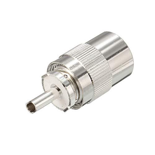 Herramientas y mejoras para el hogar UHF PL259 Soldadura de enchufe del...