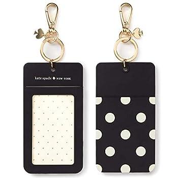 Kate Spade New York Women s Id Clip Black Dot Size