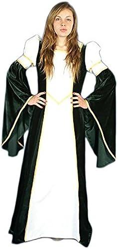 Medieval Factory Mittelalterliches Frauenkleid Weißa Velvet