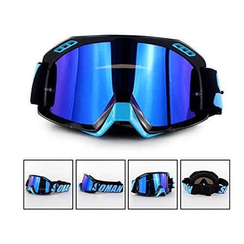 SHDHDI snowboardbril, skibril, instelbaar, anti-condens, OTG, UV-bescherming, ski-, snowboardbril, wintersportbril en uv-400-bescherming voor mannen voor sneeuwscooter,