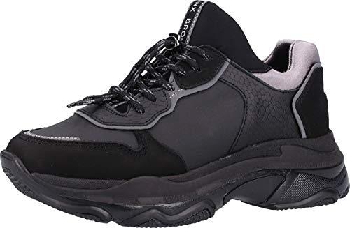 Bronx 66167E-BB Damen Sneakers Schwarz, EU 38