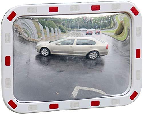 Espejo de Tráfico Convexo de Seguridad Plaza de la lente del espejo del tráfico por carretera de amplio ángulo de Cine espejo interior y exterior anti-robo del espejo intersección de la esquina antico