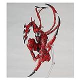 Jouet pour enfant Marvel Red Venom Carnage dans le film L'incroyable SPIDERMAN BJD Joints Mobile Action Modèle Modèle