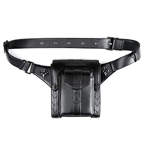 Tactical Waist Bag, Flip Waist Belt, Key Clip, Steampunk Waist Bag for Runners Women and Men Fits