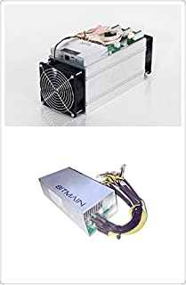 Antminer S9 -13.5TH/s @0.1 W/GH 16nm ASIC Bitcoin Miner with APW3++ 1200W@110v 1600W@220v / 10 Connectors PSU Power Supply In Stock