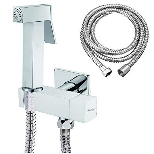Conversion /à Chaud /à Froid GARDOM Bidet,Bidet Non-/électrique,Accessoire de WC Multifonctionnel avec Buse de Pulv/érisation Autonettoyante Pression deau R/églable et Installation Facile
