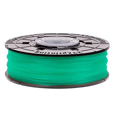 XYZプリンティング PLAフィラメント クリアグリーン 600g ダヴィンチnano/mini/Jr/Super/Colorシリーズ用(リール式/NFCタイプ) RFPLCXJP04B [3Dプリンター材料]