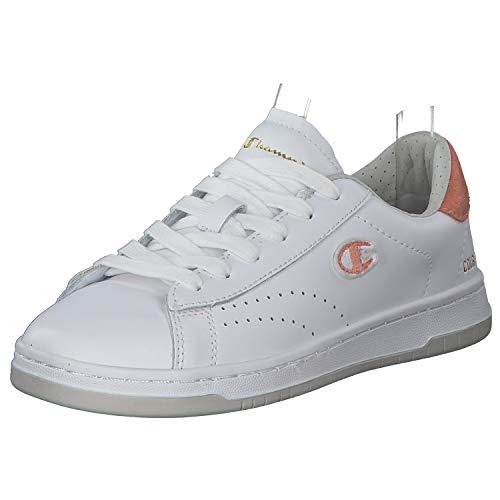 Champion Low Cut Court Club Damen Sneaker Low   Sportschuhe   Laufschuhe   Freizeitschuhe   Damenschuhe Weiß (White) 37 EU