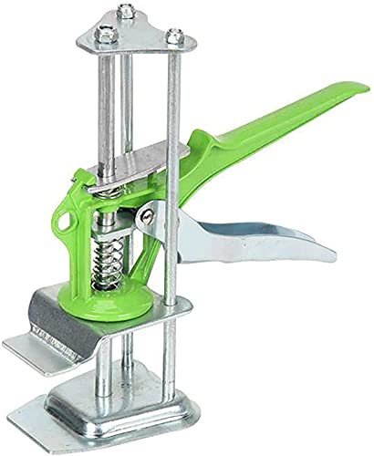 Arm Precision Clamping Tool, Wall Ceramic Tile Height Adjustment liftingdevice Manual Lifting Tool,Adjustable Height 1-10cm,Tile Leveler Regulator Heighter Leveler Lift-Door Lifter Tools (Green-01)