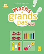 Maths à grands pas (+ CD-ROM) de Magali Hersant