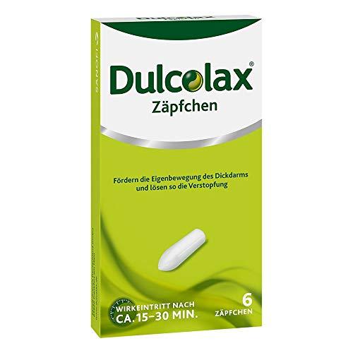Dulcolax Zäpfchen bei Verstopfung 6 stk
