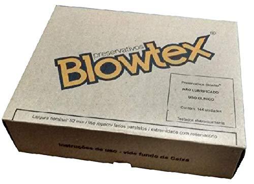 Preservativo Blowtex não Lubrificado com 144 Unidades, Blowtex, 6 x 23 x 18 cm