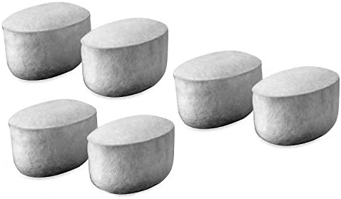 Blendin 6 Pack Charcoal Superior Regular store Replacement wi Filters Compatible Water