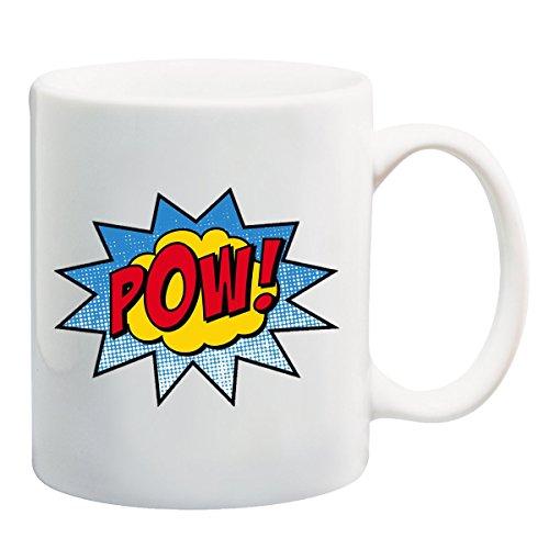 Pow!! Wauw. PoP Art T-shirt Mok