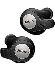 Jabra Elite Active 65t Earbuds - Passive Noise Cancelling Bluetooth Sports Headphones med rörelsesensor för Fitness Tracking - Trådlösa samtal och musik - titansvart