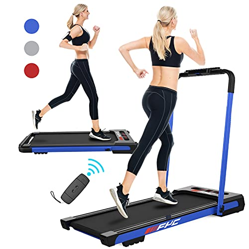 FYC 2 in 1 Folding Treadmill for Home