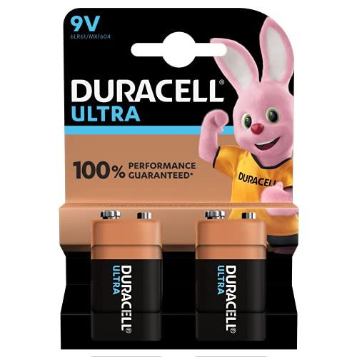 Duracell - Batteria 9V, confezione da 2