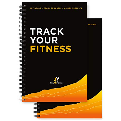Workout Log Book & Fitness Journal - 25-Week Designed by Experts, w/...