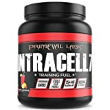 Primeval Labs Intracell 7 Black Intra Workout Supplement Powder, Enhances Performance, Supports Hydration, Improves Metabolism and Muscle Recovery for Optimal Performance, Cherry Lemonade, 40 Servings