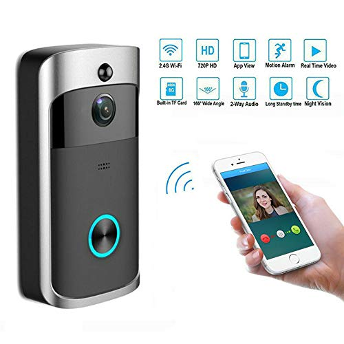 Harwls Smart WiFi Video Doorbell Wireless Motion Detection Security Deurbel voor Smart Home