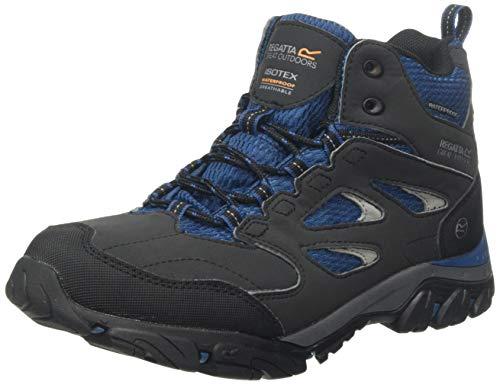 Regatta Chaussures Techniques - Holcombe Iep, Hiking Boot Femme,Grey(Ash/Blue Opal)39 EU