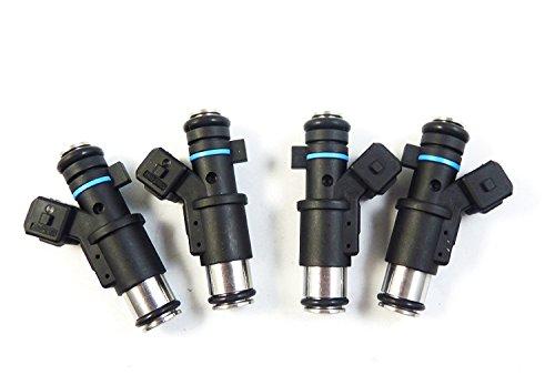 Lot de 4 injecteurs de carburant 1984E0 pour Berlingo C2 C3 Saxo Xsara Pluriel 206 SW Partner 307 Partnerspace C3 I 1996 1997 1998 1999 2000 2001 2002 2003 2004 205 2006 2007 2008 2009 2010.