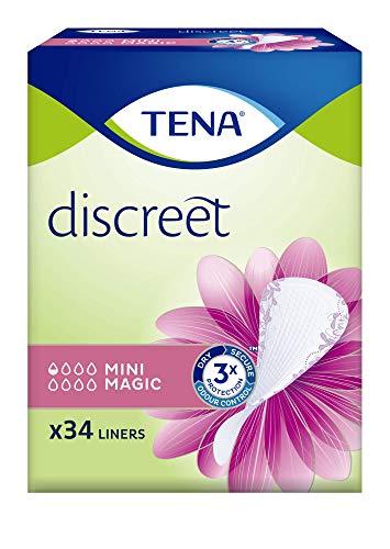 TENA 761001 34pieza(s) Compresa sanitaria producto para higiene femenina - Producto de higiene femenina (Blanco, 34 pieza(s))