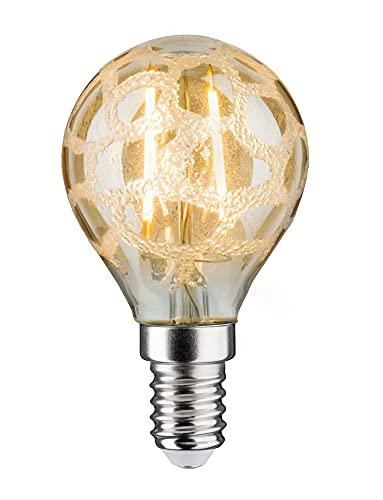 Paulmann 283.68 LED Tropfen 2,5W E14 230V Krokoeis Gold Warmweiß 28368 Leuchtmittel Lampe