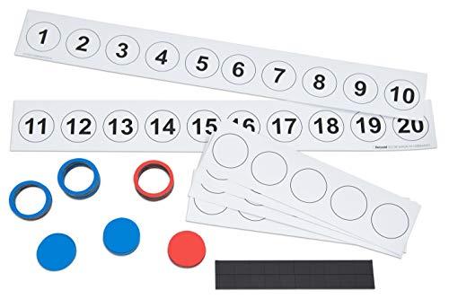 Betzold 87031 - Magnetischer Demonstrationssatz: Rechnen bis 20 - Rechnen Lernen im ZR 20, Mathematik