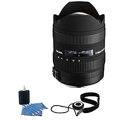 Sigma 8-16mm f/4.5-5.6 DC HSM FLD AF Lens for Canon DSLR Cameras + Accessories! from SIGMA