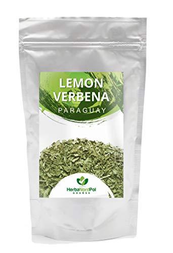 HerbaNordPol Tee aus Zitronenverbene | Erfrischend und beruhigend wirkende Blätter aus Paraguay | Reihhaltiges Aroma | 400g