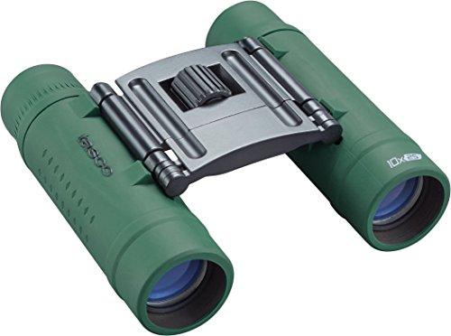 Tasco Binóculos Essentials Roof Prism Roof MC Box, 10 x 25 mm, verde