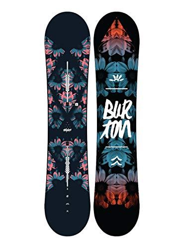 Burton Damen Stylus Snowboard, Transparent, 152