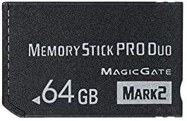 Original 64GB High Speed Memory Stick Pro Duo Mark2 64gb Cards PSP Game Camera Memory Card