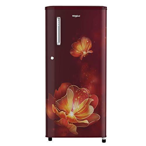 Whirlpool 190 L 4 Star Inverter Direct-Cool Single Door Refrigerator (WDE 205 PRM 4S INV, Wine Radiance, Inverter Compressor)