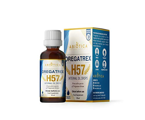 OREGATREX H57   Oregano Oil - Origanum Hirtum   for Immune Support   Min. 82% Carvacrol - 30ml