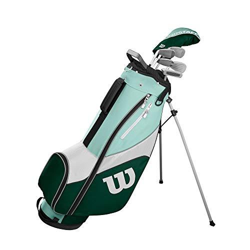 Wilson Damen PRO STAFF SGI GRA LRH 1/2 SET Golfschläger, Mehrfarben,