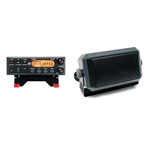 Uniden BC355N 800 MHz 300-Channel Base/Mobile Scanner, Black & RoadPro (RPSP-15) 2-3/4'' x 4-1/2' Universal CB Extension Speaker with Swivel Bracket