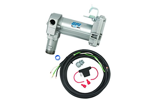 GPI 133240-3, M-3025-PO High Flow Cast Iron Fuel Transfer Pump, 12-VDC, 25 GPM, Straight Base, Pump Only
