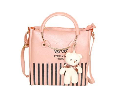 Forever Trends Women's Handbag, Sling Bag with Adjustable Strap and Handle for...