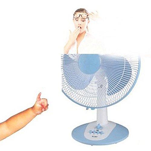 Bazaar Baby Veiligheid Elektrische Ventilator Cover Mesh Materiaal Shield Voor De Ventilator