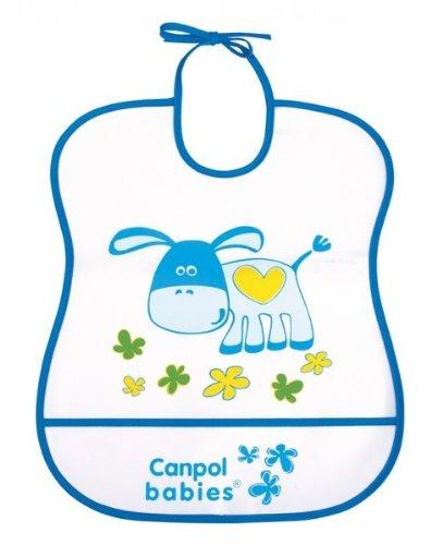 CANPOL Babies–Lote de baberos suave–5Pieces- fabricado en la u.e.