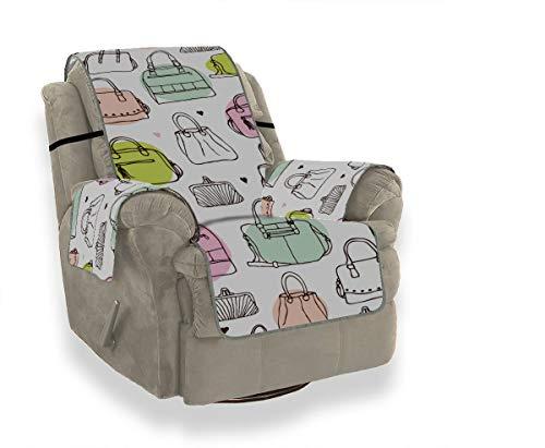 JIUCHUAN Modeartikel Trend Bunte Geschenktüte Universal Stuhl Schonbezug Schonbezüge für Ohrensessel Fit-All Sofakissenbezug 21
