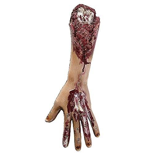 Widmann 00476 - Abgetrennter Arm mit Knochen, Accessoire, Halloween, Karneval