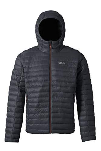 RAB Mens Nimbus Jacket Beluga/ZINC (X-Large)