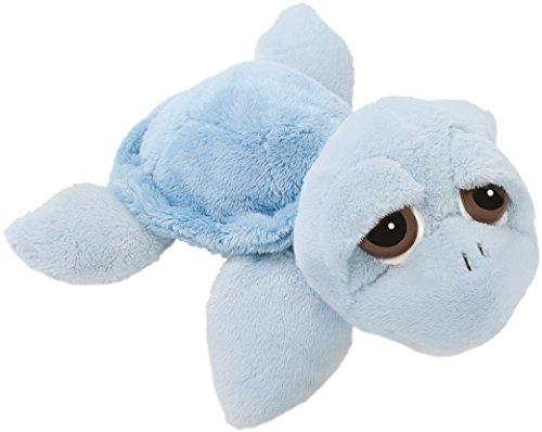 Suki Gifts- Li'L Peepers Turtle-Reef Blue Peluche, 10024E