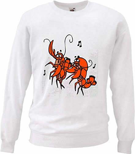 Reifen-Markt Sweatshirt Damen Motiv 11218 Farbe Weiß Größe XS