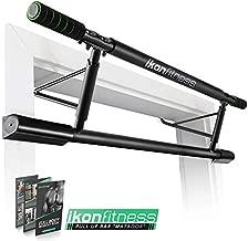 Ikonfitness Pull Up Bar with Smart Larger Hooks Technology [2019 Upgrade] - USA Original Patent, USA Designed, USA Shipped, USA Warranty